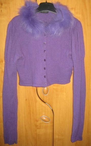Violetinis megztukelis