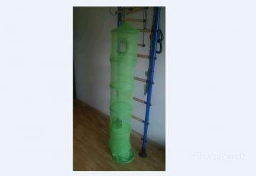 Žaislų-daiktų saugykla žalios spalvos