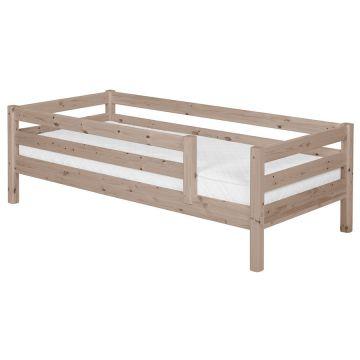 Viengulė vaikiška Flexa lova, čiužinys 190x90cm