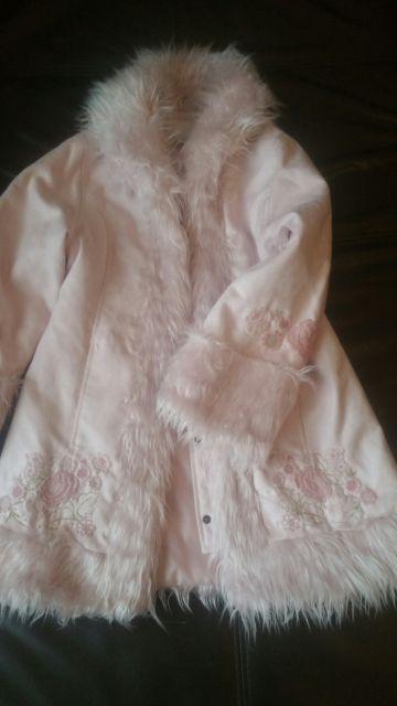 Rožinis H&M paltukas