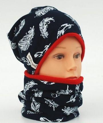 Šilta kepurė su mova