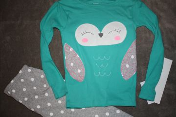 2 dalių carter's pižama 4 m. mergaitei