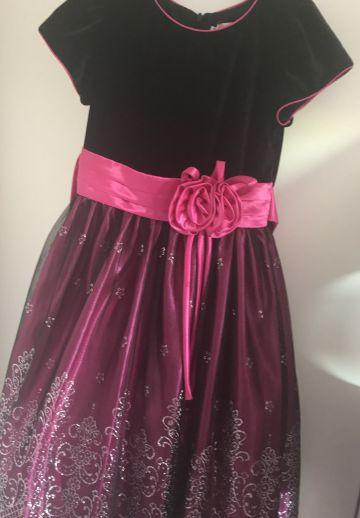 Puošni suknelė 8-9 m mergaitei