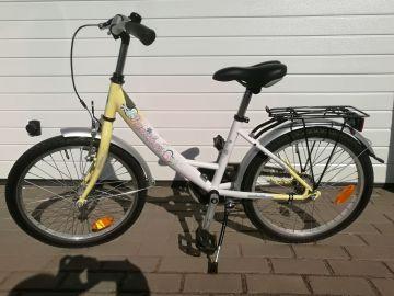 Vaikiškas dviratis mergaitei su 20