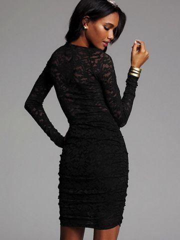 138. Flirty little lace dress – prabangi ir be galo seksuali nėrinių suknutė