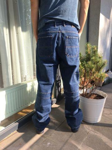Nauji medvilnės džinsai