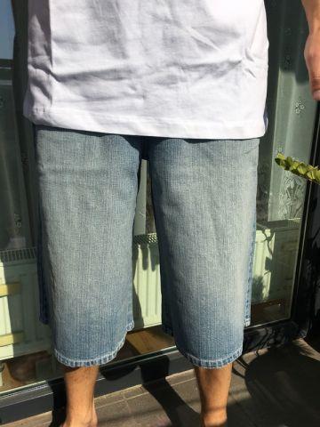 Medvilnės džinso šortai
