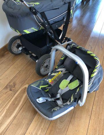 Parduodu 3-jų dalių vežimėlį Emmaljunga