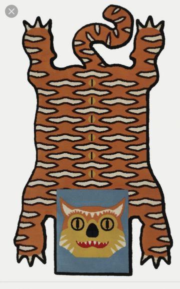 Ieškau Ikea Glodande kilimo tigro
