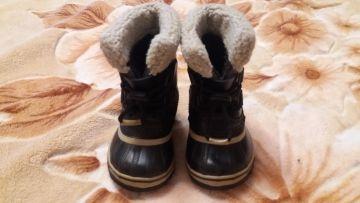 Odiniai žieminiai batai su veltiniais