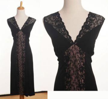 336. Little Black Lace dress