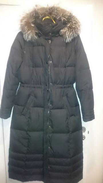 Nedaud dėvėtas Esprit žieminis pūkinis paltas