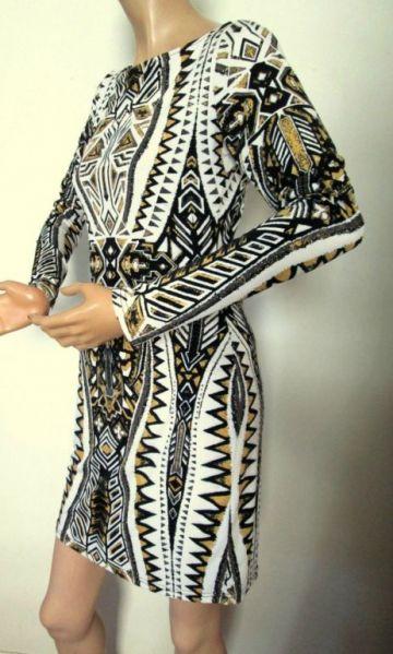 437. Flirty Print Dress – nuostabaus grožio suknytė,