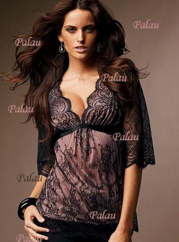 17. Victoria's Secret kataloge pristatyta žavulinga nėrinių palaidinė
