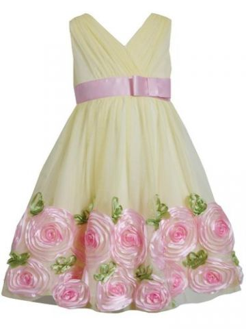Bonnie Jean proginė suknelė, 4 m.