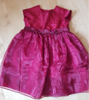 Puošni proginė suknelė, 3-4 metai, 104 cm