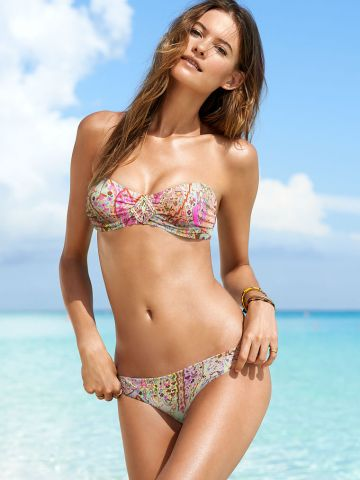 Victoria's secret Beach Sexy The Flirt Bandeau bikini, 34B ir S