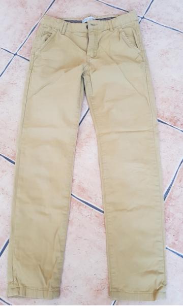 Zara šviesios kelnės, 152 cm