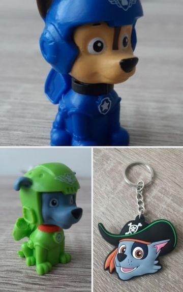 Paw Patrol figurėlės