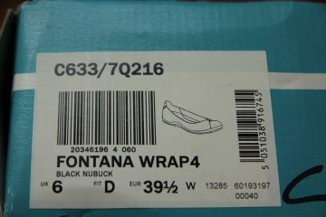 Clarks Fontana Wrap bateliai