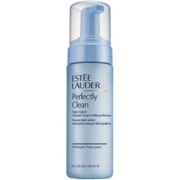 Estée Lauder Perfectly Clean Triple-Action Cleanser/Toner/Make-Up Remover, 150 mg