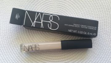 Naujas NARS radiant creamy concealer maskuoklis