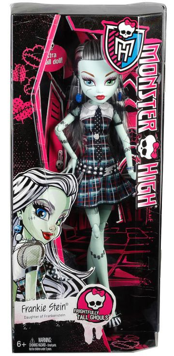 Monster High Frightfully Tall Frankie Stein Lėlė ~43cm