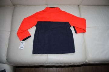 Ryškiaspalvis flysinis džemperiukas 4 m. berniukui