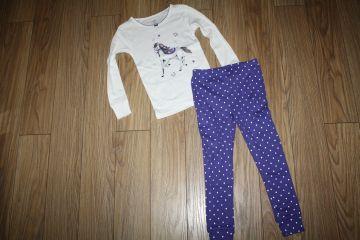 Carter's 2 dalių pižama 4 m. mergaitei