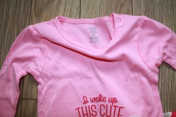 Carter's 2 dalių pižama 5 m. mergaitei