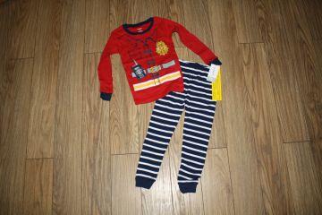 Nauja carters 2 dalių pižama 3 m. berniukui