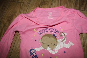 Medvilninė pižama 5 m. mergaitei