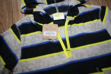 Flysinis džemperis su kapišonu 4 m. berniukui