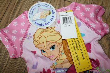 Nauja medvilninė pižama su šortukais 2 m. mergaitei