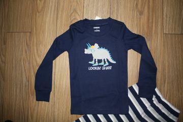 Nauja medvilninė pižama 4 m. berniukui