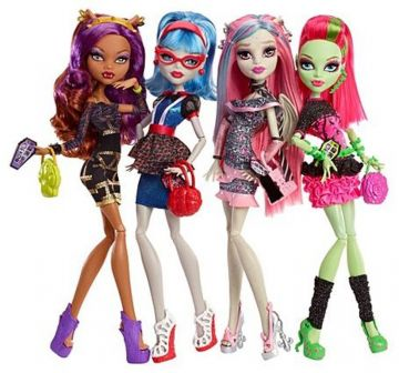 monster high 4 pack