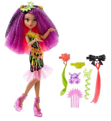 monster high Electrified Monstrous Hair Ghouls Clawdeen Wolf