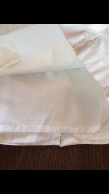 Baltas vasarinis sijonukas