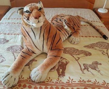Didelis pliušinis tigras