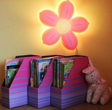 Dėžučių rinkinis žurnalams ar piešiniams, knygelėms ar dokumentams laikyti