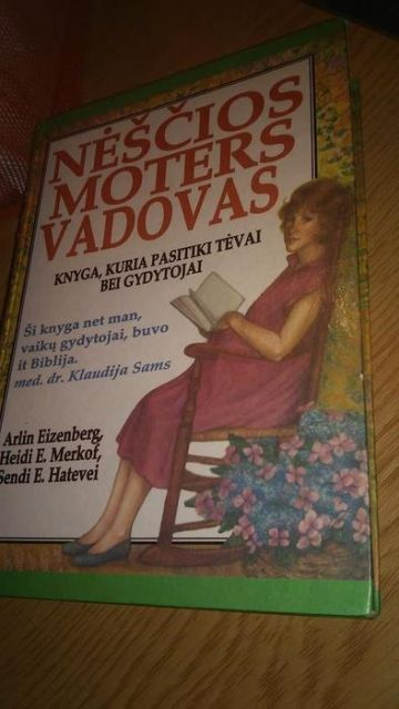 Nėščios moters vadovas 1998 knyga
