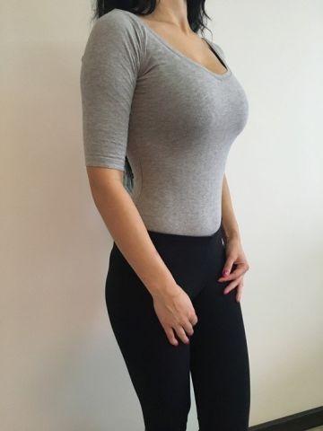 Zara pilkas body/bodziukas