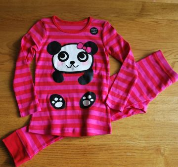 M&S medvilninė pižama, 134-140cm
