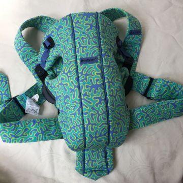 BabyBjorn medvilninė nešioklė