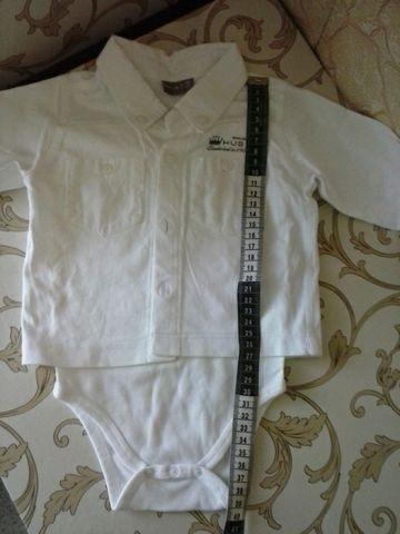 2 in 1 bodi marškinukai vyrukui