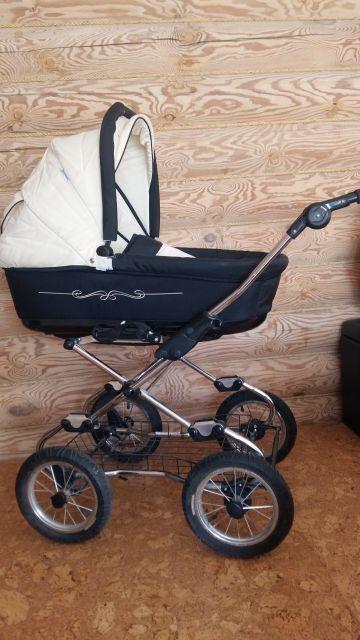Klasikinis 3-jų dalių vežimėlis